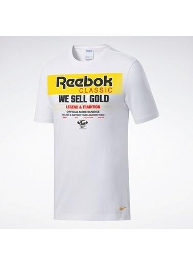 Reebok Classıcs Gp Gold Tışört Beyaz